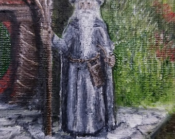 Gandalf the Wizard Greeting Card--Original Art from Middle Earth