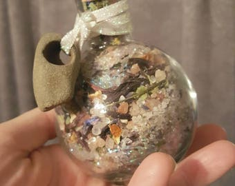 Faerie Offering for the Alter/Home Abundance/Fairy Blessings/Gris Gris Bag/Mojo Bag/Faery Witch/Ritual Herbs/Faerie Tarot Offering/Pagan