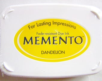 Ink-MEMENTO - yellow DANDELION - Japan
