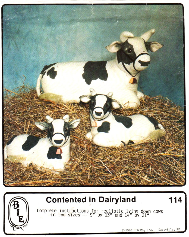 Bie originals 114 realistic lying down milk cow pattern zoom jeuxipadfo Images