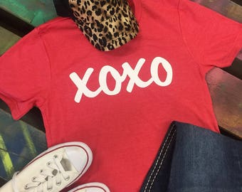 NEW Valentines Day soft tee XOXO Love tshirt t shirt