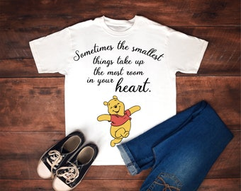 Winnie the Pooh - Quote - Tshirt - Hoody - Made to order - Custom Colors - Free shipping