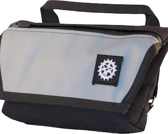Dime Bag - Cyclist Hip Bag/Handlebar Bag/Fanny Pack - Weatherproof - Handmade in USA!! 1.5 Liter