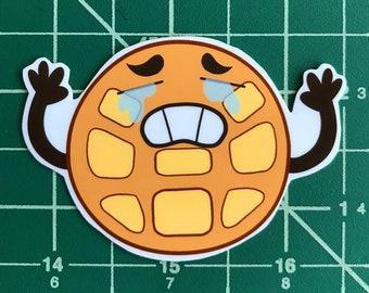 Crying Breakfast Friends | Waffle