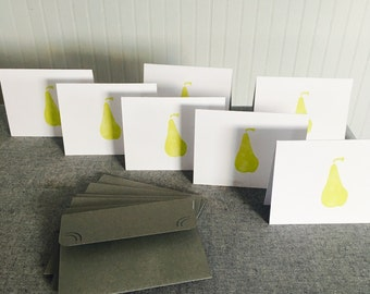 I Pear About You Greeting Card (set of 7)