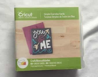 Cricut Cartridge - Simple Everyday Cards - Gently Used