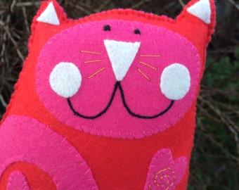 Cupid  Kooky Kat Plush/Mini Pillow