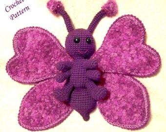 Snuggly Butterfly PDF Crochet Pattern