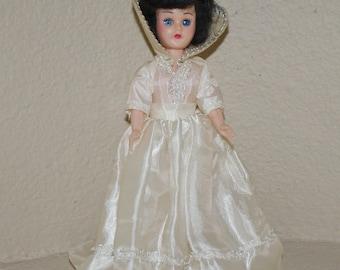 Vintage Blue Bonnet Storybook Doll Snow White