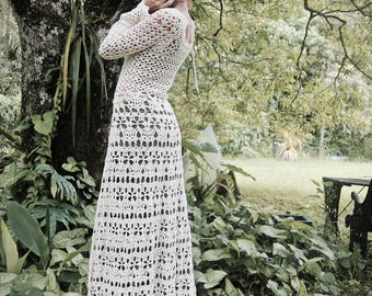 Lily of the Valley Crochet Cotton Faery Tale Gown