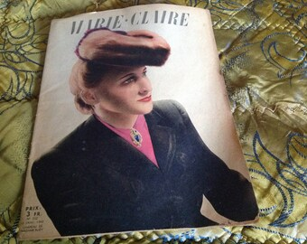 Copy of the French magazine Marie Claire