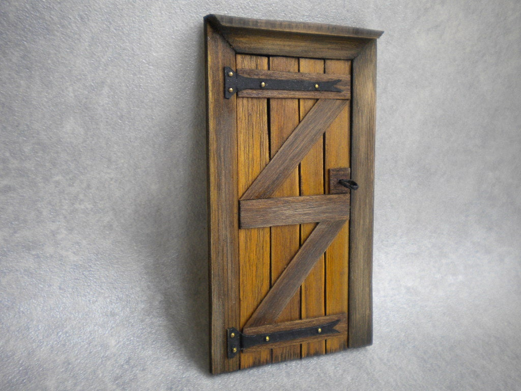 ?zoom & DollHouse Door Fairy Door Tudor Medieval Cottage Fairy