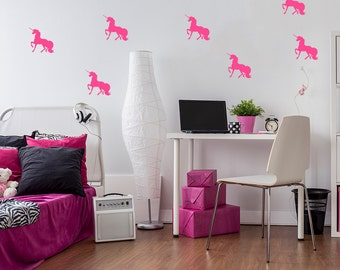 Popular Items For Unicorn Wall Decal