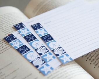 Recipe Cards - Seashells