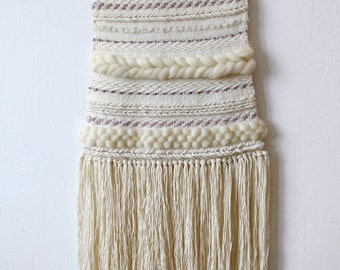Woven Wall Hanging | Boho Style | Hand woven tapestry | Textile Art Home Decor