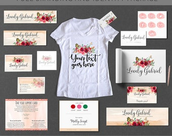 Full Branding And Identity With Custom Logo Design & Double Sided Business Card Design Package UNLIMITED REVISIONS Vector File