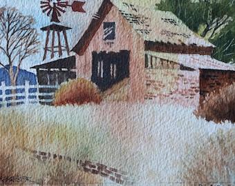Ligat's Barn & Windmill