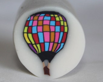 Polymer Clay Cane-Hot Air Balloon