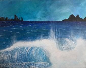 Oceanic wave