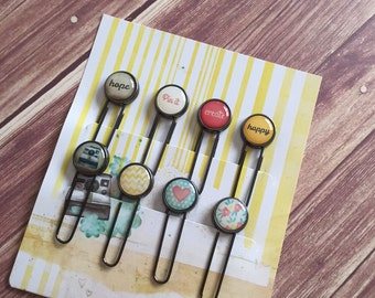 Create/Happy/Hope Fun Paperclips