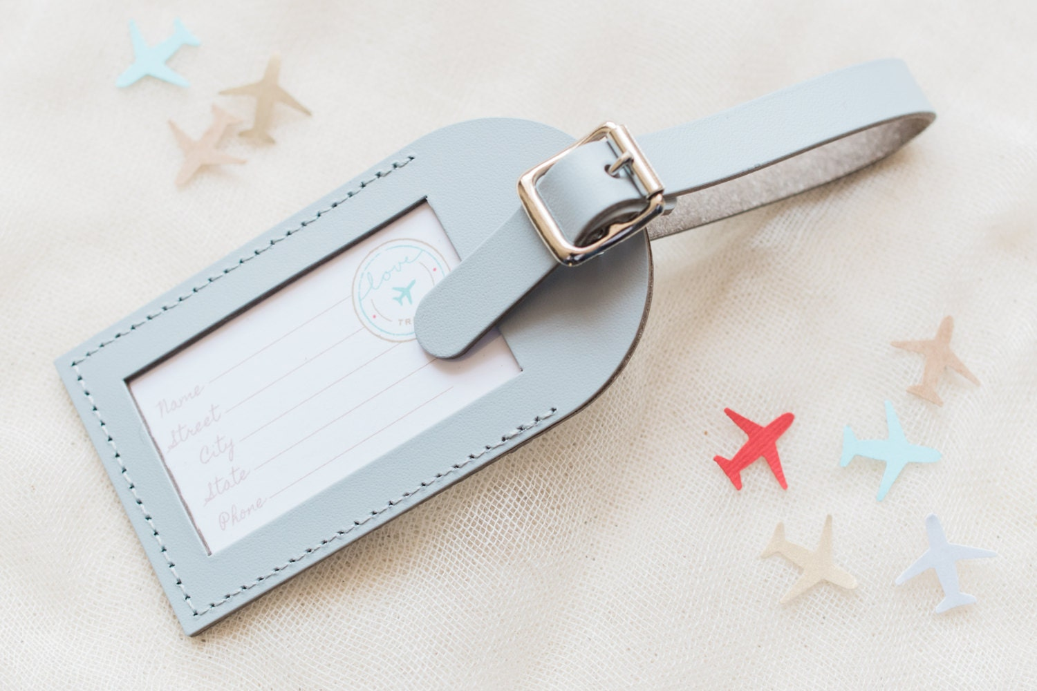 Bulk Listing Grey Wedding Favors Fly Away with Me Leather