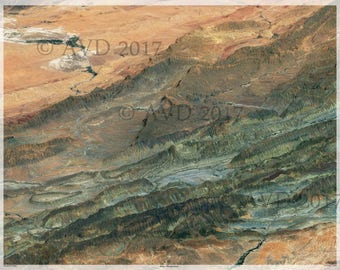 Atlas Mountains Digital Print