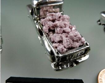 Lepidolite Inlay #32, Hand Crushed Lepidolite Inlay, Wood Inlay, Jewelry Inlay, Chip Inlay, Gem Inlay , Gift, 49erMinerals