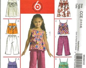 McCalls 5308 uncut size3 - 6 girls pants and blouse