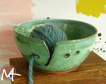 Yarn Bowl with Sheep