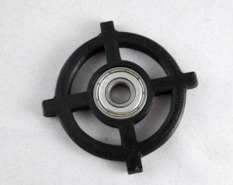 Spinner Fidget Toy EDC Hand Finger Spinner Desk Focus Gun Crosshair One Hand