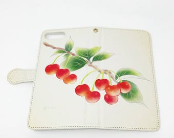 Cell Phone Case - Cherry / Ivory