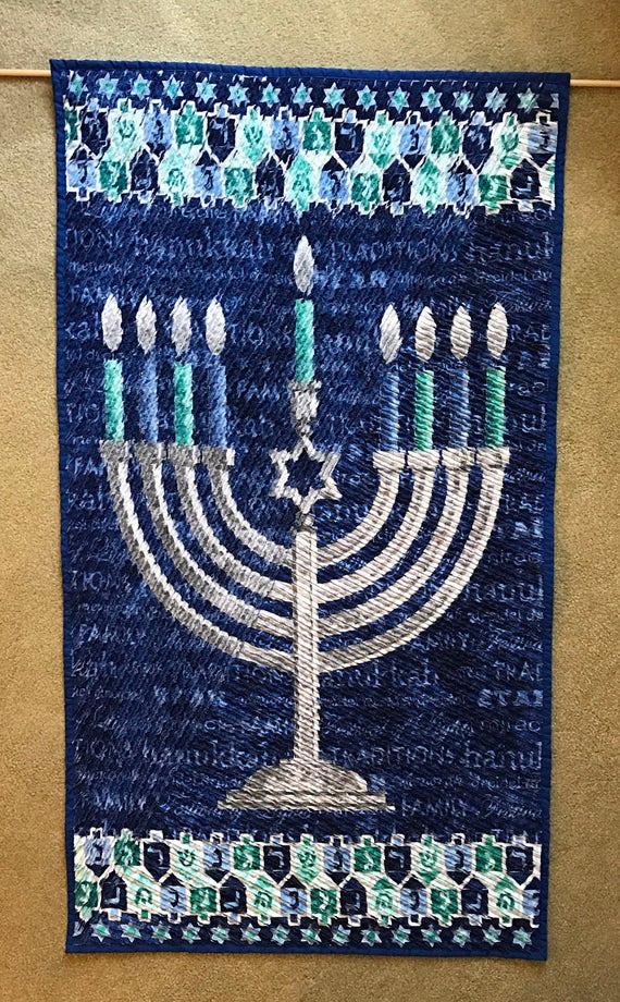 Chenille Hanukkah by Etsy