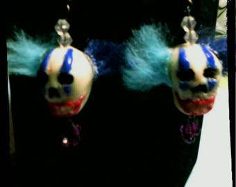 Creepy Clown Earring
