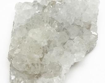 VERY RARE - Cluster of Terminated Iris Quartz Crystals on Matrix from India