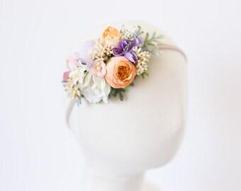 baby flower headband, flower crown headband for babies, floral headband baby, flower headband toddler, flower crown baby, girls headband