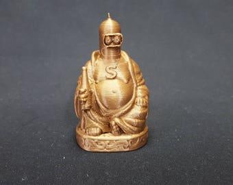 Bender Buddha - Futurama Inspired