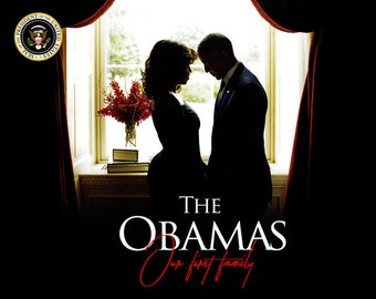 2017 Barack Obama Poster 16x20 First Lady Michelle Our First Family (Farewell Edition)