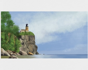 Split Rock Lighthouse - Giclée Print