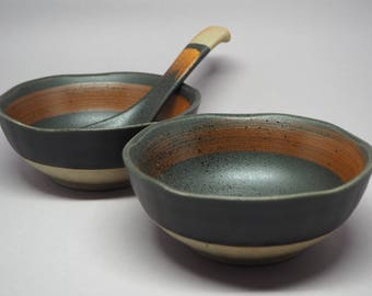 Nami bowl and spoon set
