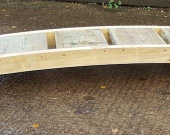 Wooden Garden Pond Bridge