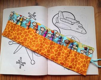 Crayon roll, Child's crayon roll, Children, Child's gift, Children gift, Child Birthday, Christmas