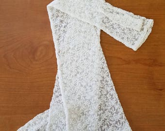 Lace Fingerless Gloves - Victorian or Edwardian  #2