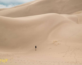 Great Sand Dunes National Park photo print