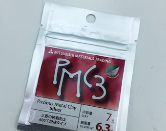 PMC 3 silver clay 7g, 9g, 16g