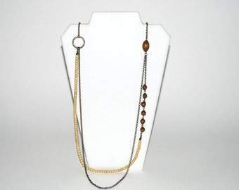 Vintage Balanced Chain Necklace