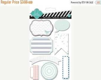 20% Off Flash Sale Heidi Swapp | Embellishments | 8 Piece | HS01065