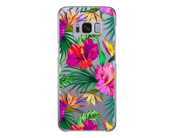 Hawaiian Tropical | Orchid| Case for Samsung S9 | Samsung S9 Plus case | Floral | Samsung S8 | Samsung S8 Plus | Aloha | Samsung Note 8 case