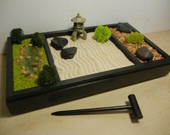 Mini zen garden | Etsy
