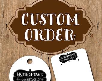 Custom order tags for tahviaedwards