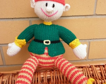 Imp, Elf or Santa's Little Helper is very colourful and he is ready to ship.
